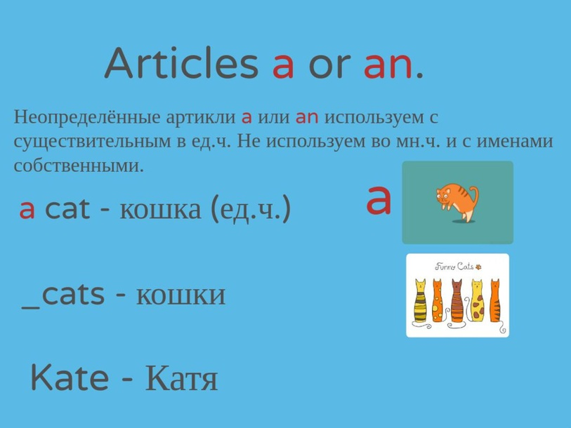 Articles A or An by Ирина Ковалёва