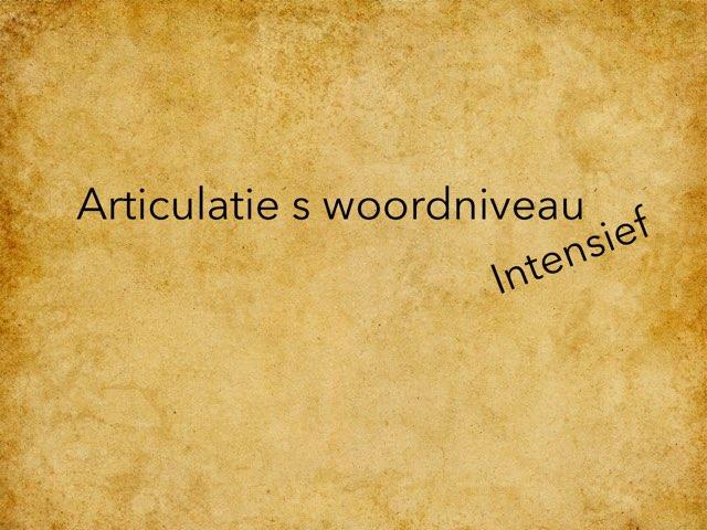 Articulatie S Intensief by Annabel Barbé
