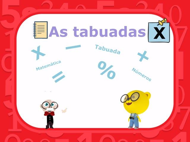 As Tabuadas by CAt mat