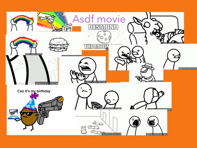 Asdf Movie by Britany Flash