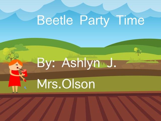 Ashlyn's Beetle Project by Stephanie Olson