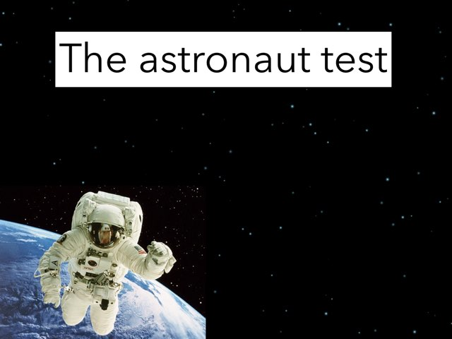 Astronaut Quiz by Aiyana McMiller