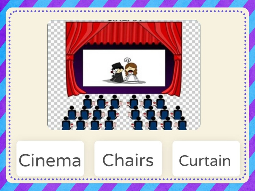 At the cinema by Ruth Avila