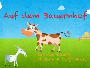 Auf dem Bauernhof  by Nadja Blust