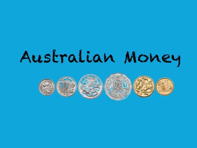 Australian Money Recognition  by Annaliese Dawson