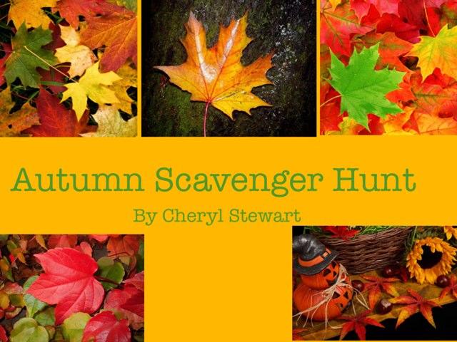 Autumn Scavenger Hunt by Cheryl Stewart