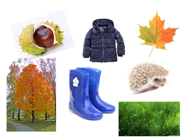Autumn Vocabulary  by Alexandra Tosh