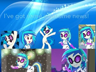 Awesome News! Check It Out! by Vinyl  Scratch