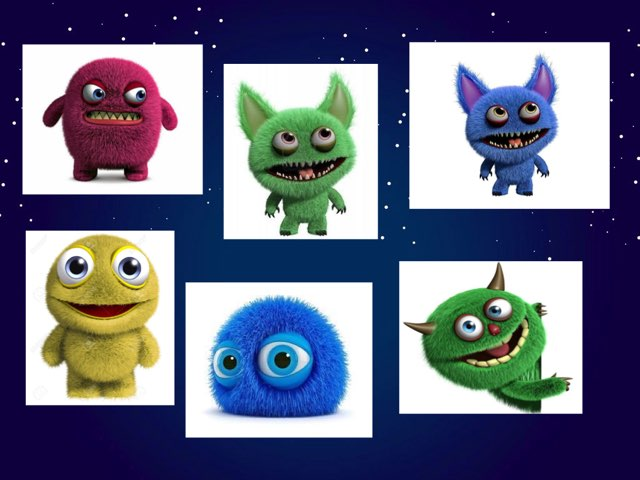 Fuzzy Little Monsters by Beaufort school