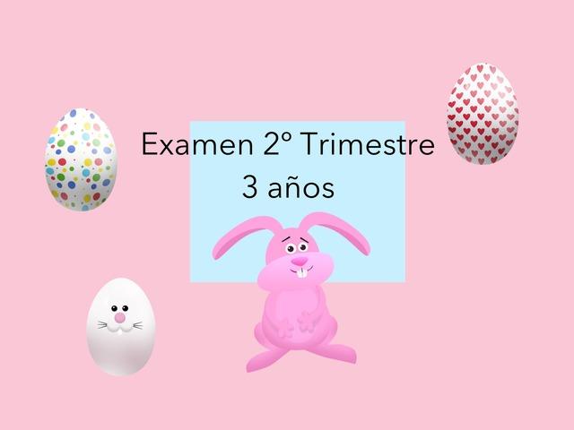 Examen 2 Trimestre 3 Años  by Mayte Jerez