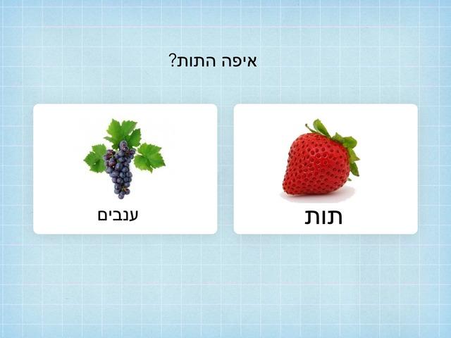 רשימת קניות סלט פירות  2 by גלית ממן