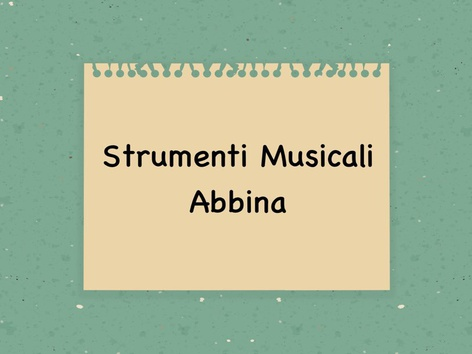Strumenti Musicali  by Monica Failla