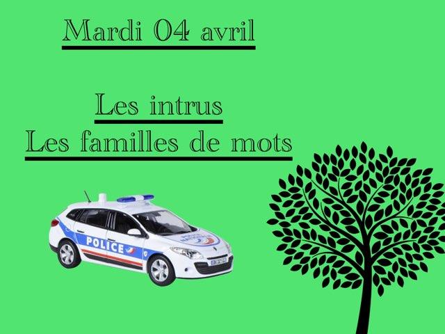 M - Mar04 - Intrus Et Familles  by Caroline Gozdek