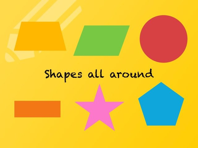 Shapes All Around  by Sherise Robertson