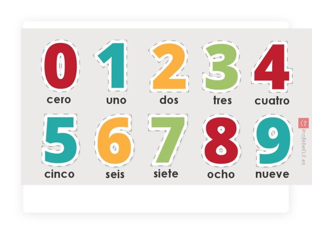 Números by Olga Patiño Abeixón
