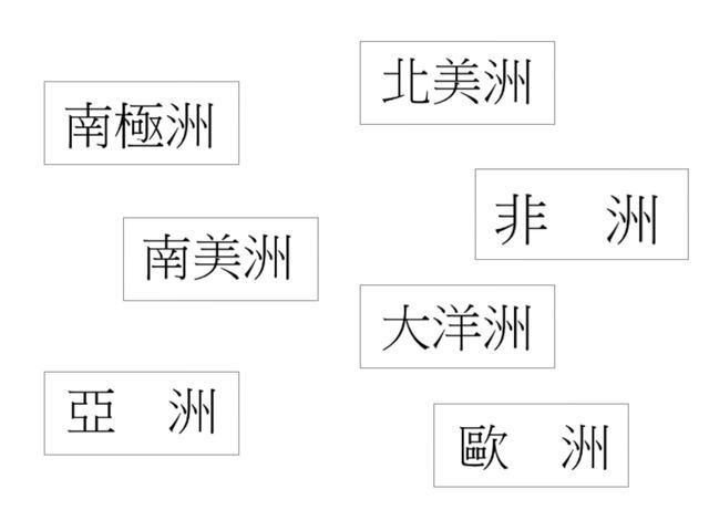 七大洲 by MS fu
