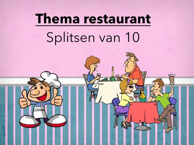 Splitsen Van 10 Thema Restaurant by Suzanne Steenbergen