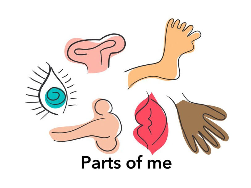 Parts Of Me by Mrs. Ruby Z. Mazin