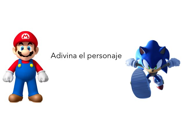 Adivina El Personaje by Felipe Mañosas