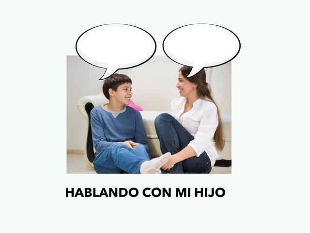 Hablando Con Mi Hijo by Francisca Sánchez Martínez