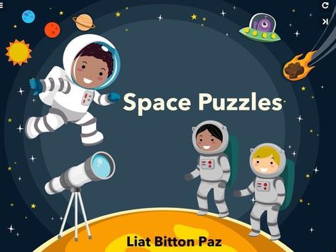 Space Puzzles  by Liat Bitton-paz