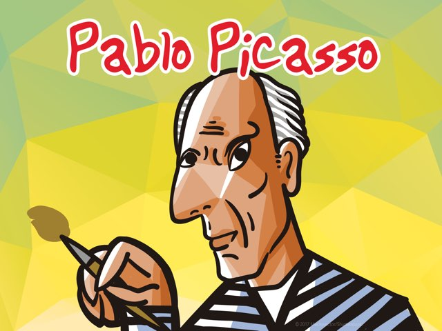 Pablo Picasso  by Lauren Codling