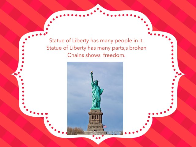 State Of Liberty by Hulstrom 1st Grade