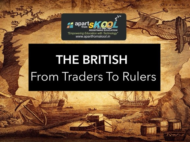 The British- From Traders To Rulers by TinyTap creator