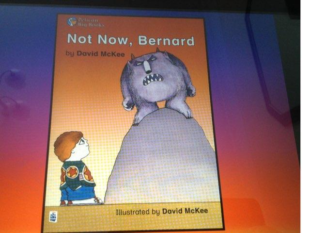 Not Now Bernard Word Match by Deborah Fletcher