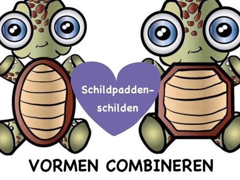 Vormen combineren - Schildpaddenschilden by Yara Habanbou