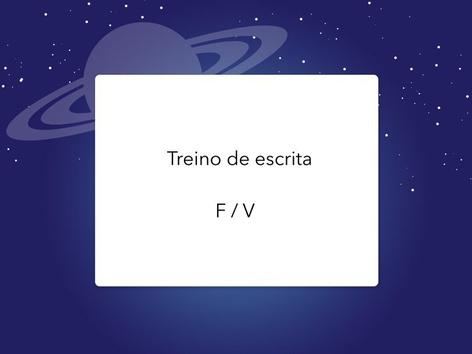 Treino De Escrita ( F ou V) by Lea Santos