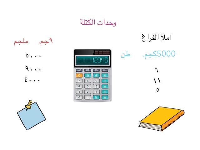 وحدات الكنلة الطالبة رزان القشعمي الصف خامس  by Razan Banbr