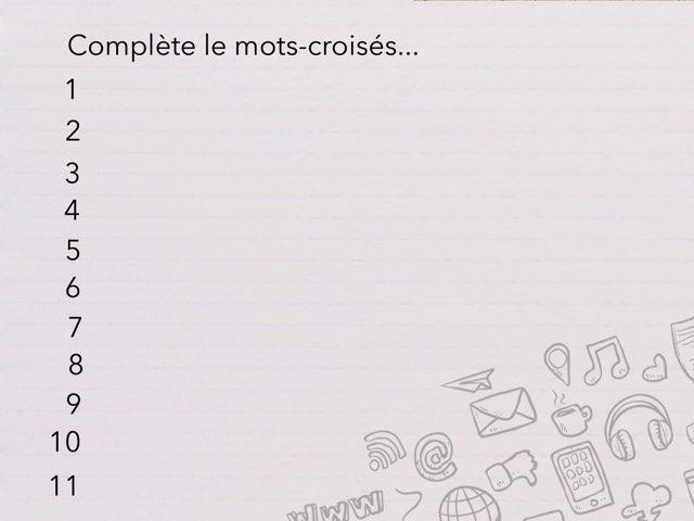Mots-croisés  by Cédric Houbrechts