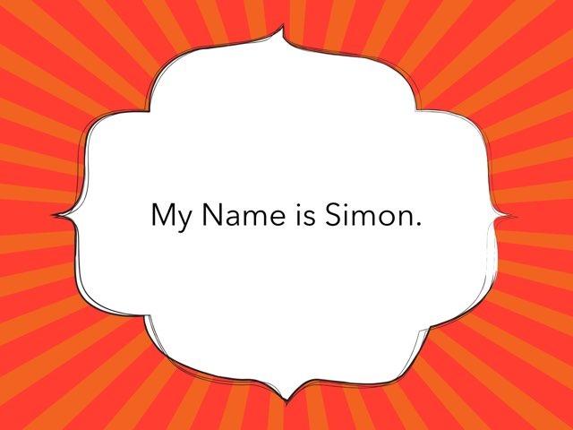 My Name is Simon by Dawn Kurisu