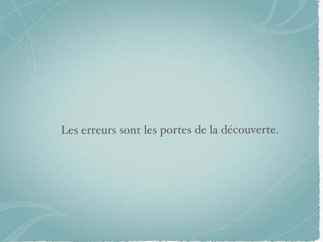 Les Erreurs... by Lin