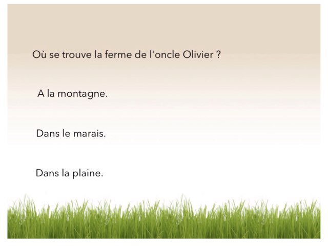 Questions by Cloé Malice