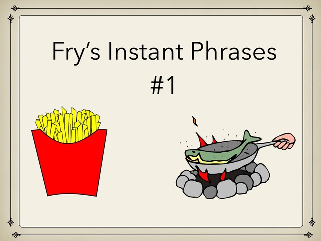 Fry's High Frequency Phrases by Carol Smith