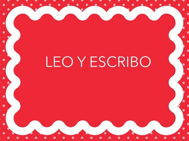 Leo Y Escribo by Mayte Jerez