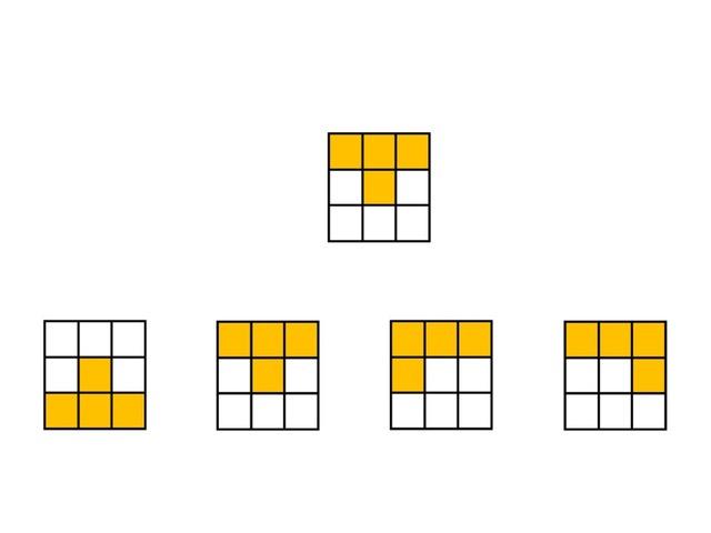 Blokpatronen (3x3) by Stefanie Rigolle