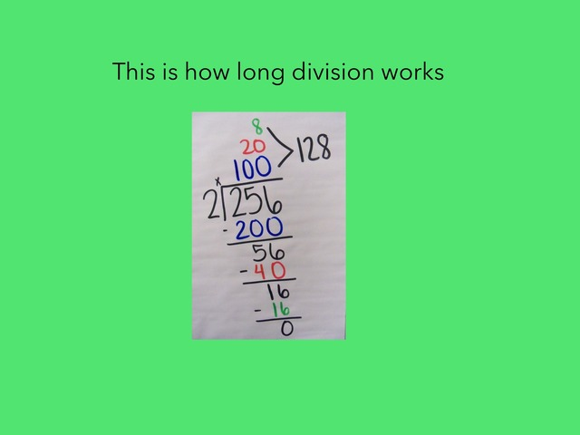 Longer Division 226 by Courtney Durbin