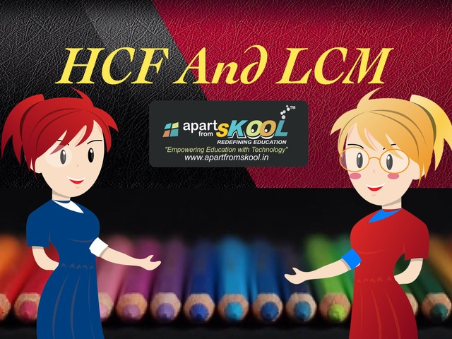 HCF And LCM  by TinyTap creator