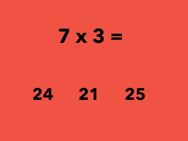 Multiplication (7 Facts) by Lori Board