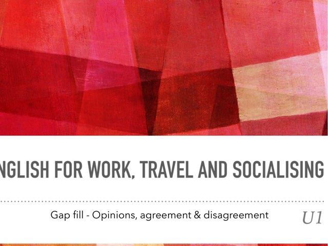 cc.opinion.agreement.disagreement.gapfill by Teeny Tiny TEFL
