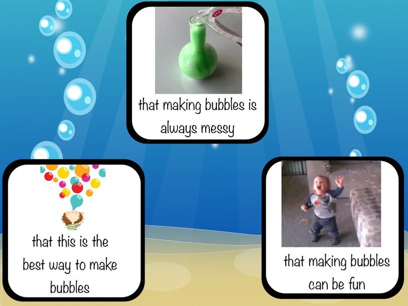 Bubbles Test. RAZ Level D by Cindy Derienzo