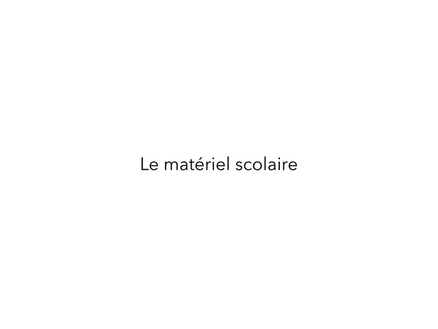 Imagier du matériel scolaire by Bonneau Stéphanie