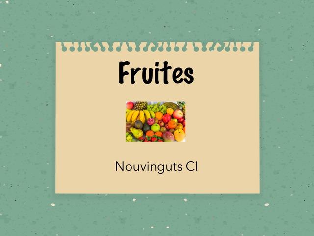 Fruites by Sara Párraga López