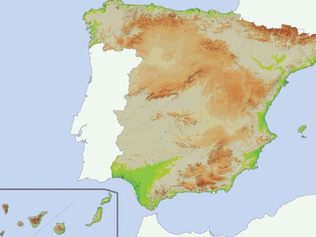 El Relieve De España  by Nuria Lobo Cordero