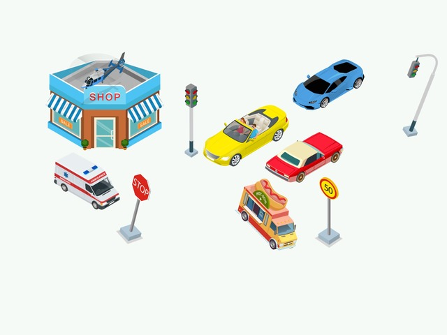 auto ville  by Lin