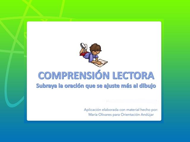 Comprensión Lectora: Elige La Respuesta Correcta by Zoila Masaveu