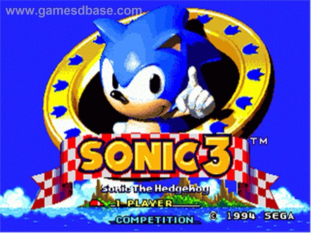 Sonic 3 Playing Tails by SoyLucasSonicYMario2012 Bermejo